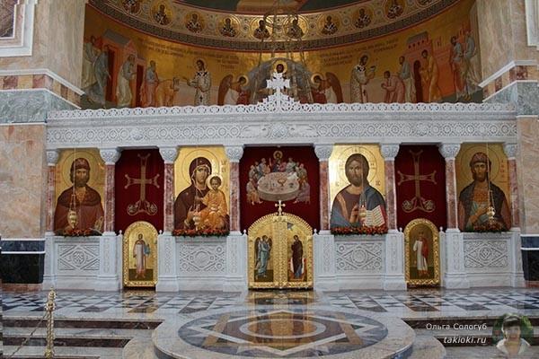 В соборе Екатеринбурга