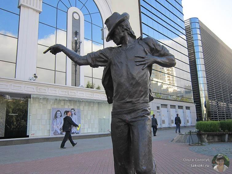 Статуя Майкл Джексон Екатеринбург