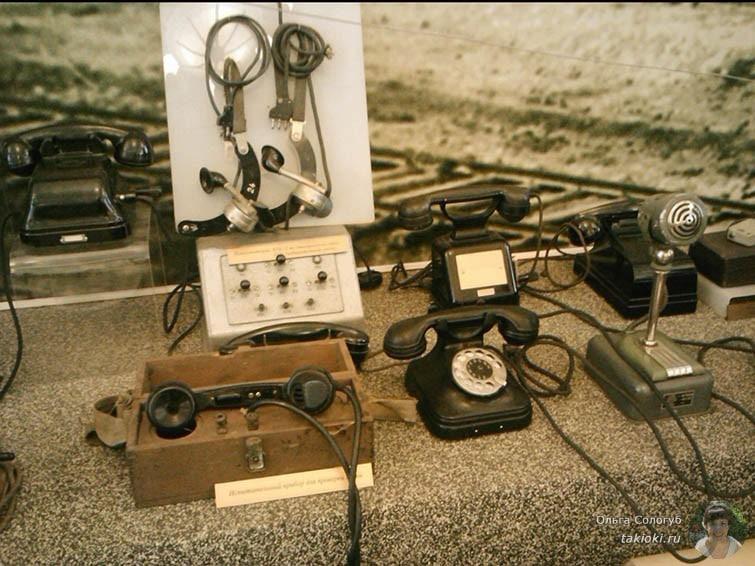 Телефонные аппараты в музее Свердловской железной дороги