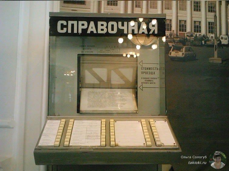 Экспонат в музее Свердловской железной дороги