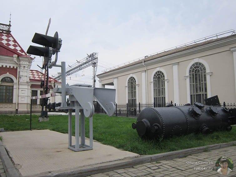 Семафор возле музея Свердловской железной дороги