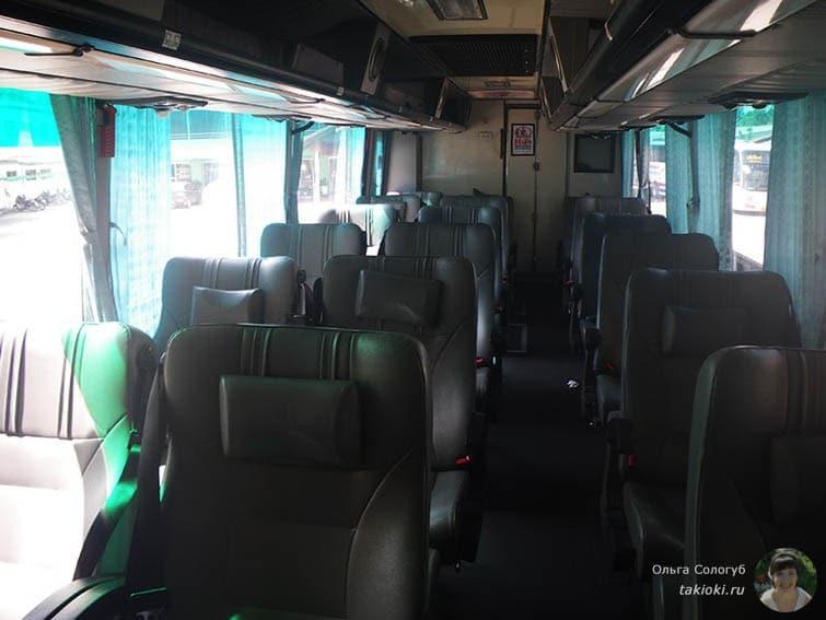 Автобус с аэроорта до Хуа Хина
