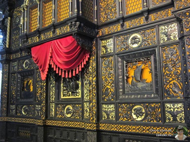 Каслинский чугунный павильон в музее