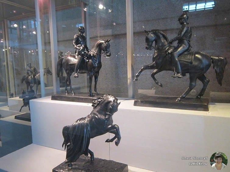 Чугунные скульптуры