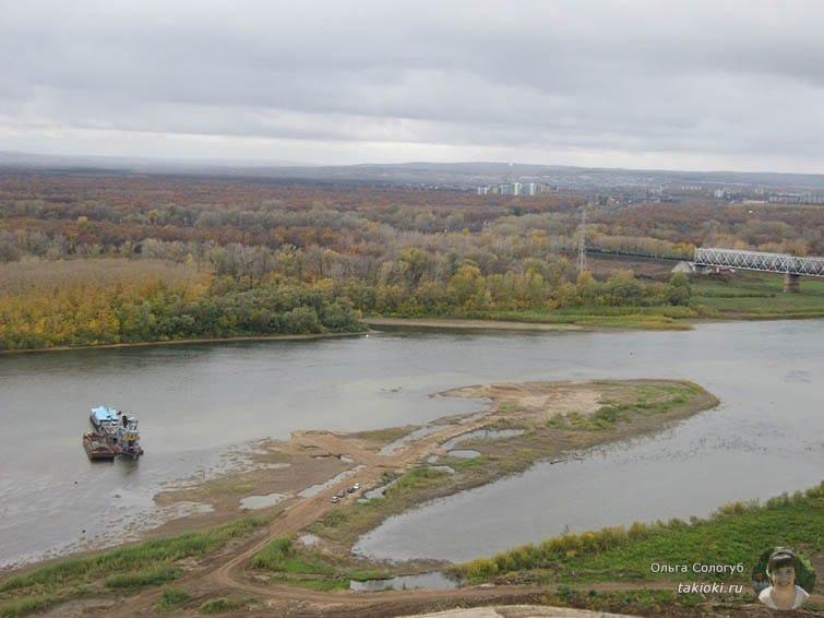 Вид на реку Белая Уфа