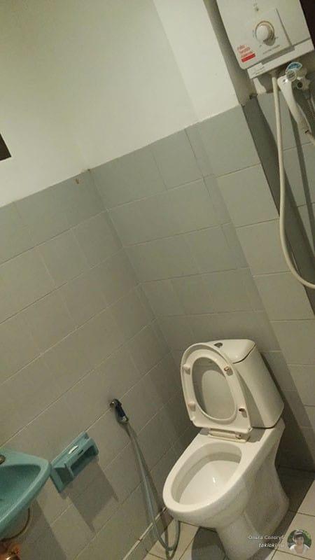 Туалет в гестхаусе Хуа Хин