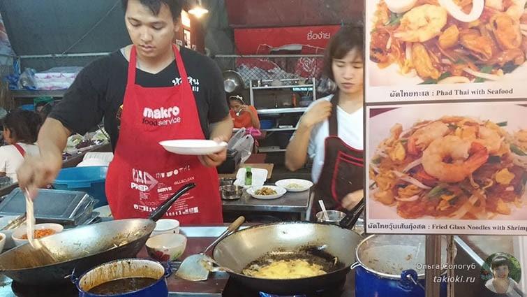 Макашницы в Тайланде