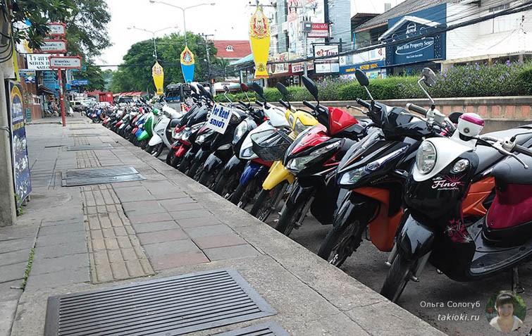 Мотобайки в Тайланде