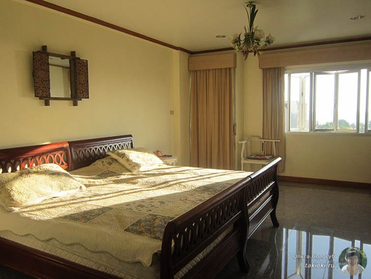 Кондо в Хуа Хине - спальня