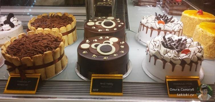 Продажа тортов в Куала-Лумпуре