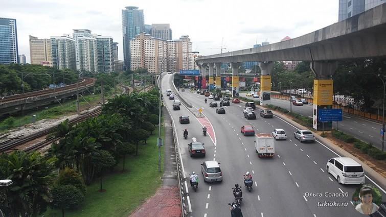 Дороги в Куала-Лумпуре