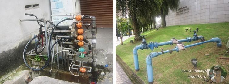 Счетчики воды в городе