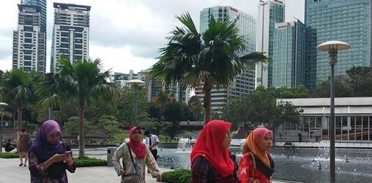 Город Куала-Лумпур. Будущее уже наступило!