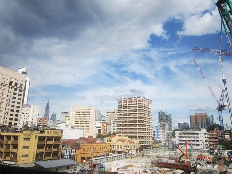 Стройка в Куала-Лумпуре