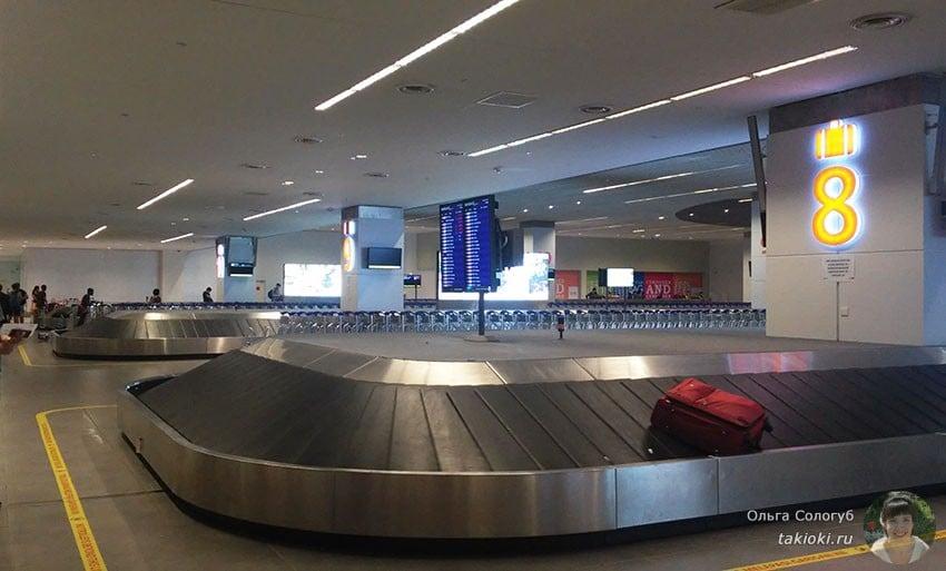 Багаж в аэропорту Куала-Лумпур