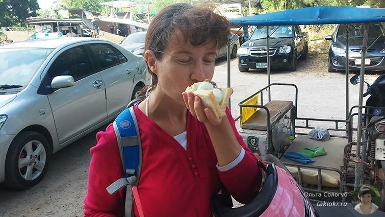 Бутерброд из мороженого