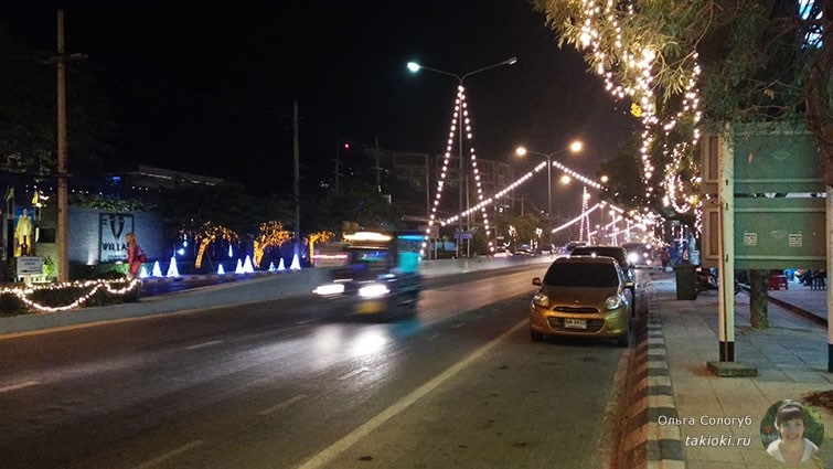 Украшение улиц в Хуа Хине