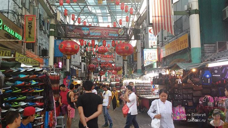 Китайский квартал Куала-Лумпур