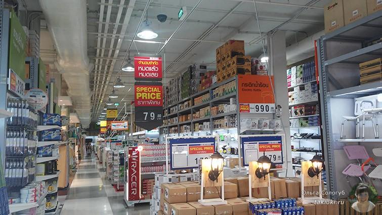 Магазин техники в Таиланде