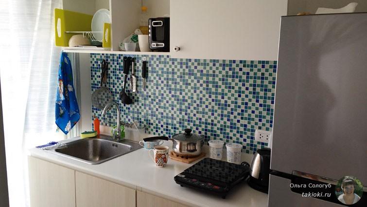 Кухня в нашем новом кондо
