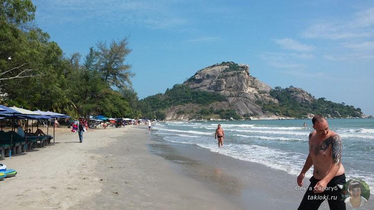 Пляж на Као Такиаб