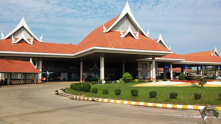 Граница Лаоса