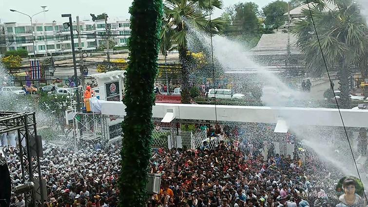 Пенная вечеринка в Хуа Хине