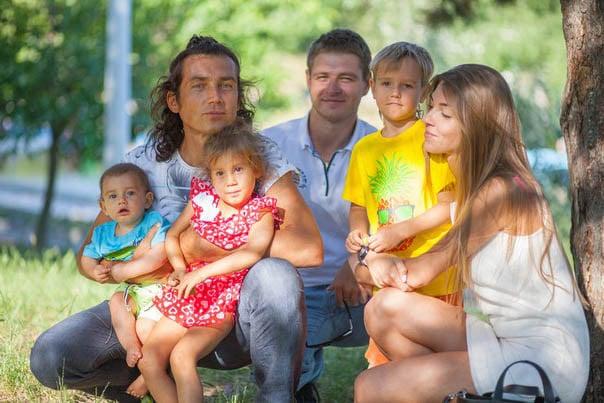 Семья Владимир и Светлана Калмыковы