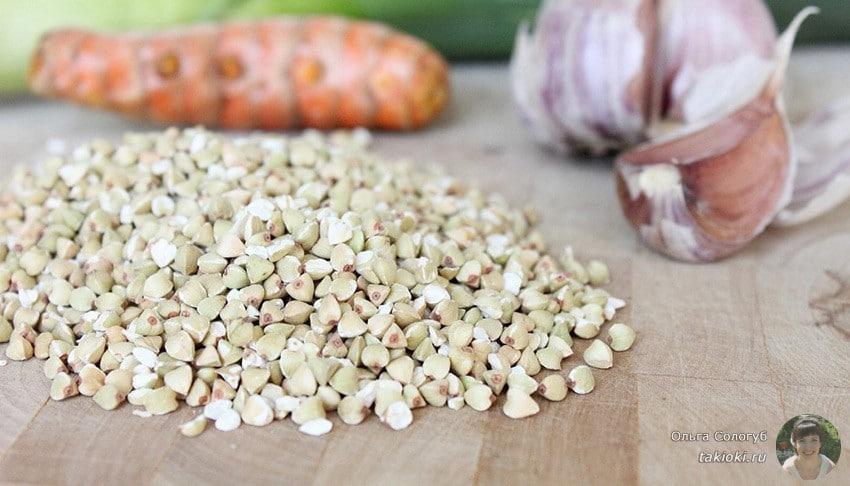 зеленая гречка: рецепты для сыроедения