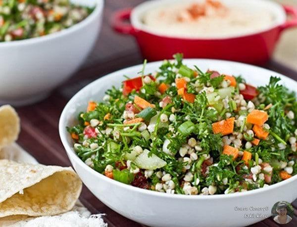 зеленый салатик