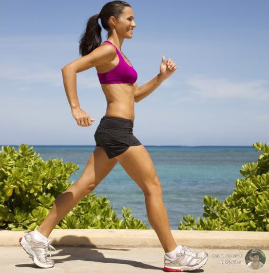 На сколько можно похудеть если бегать