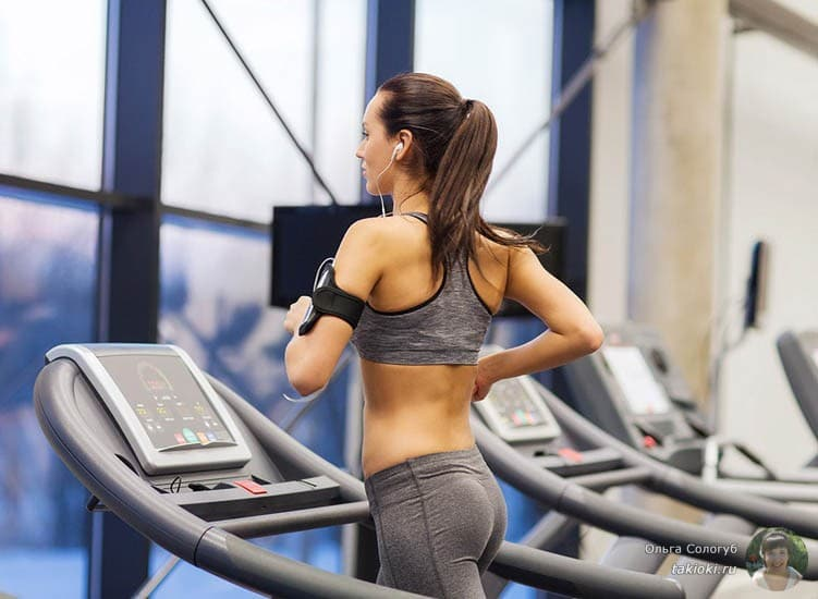бег на дорожке для похудения ног