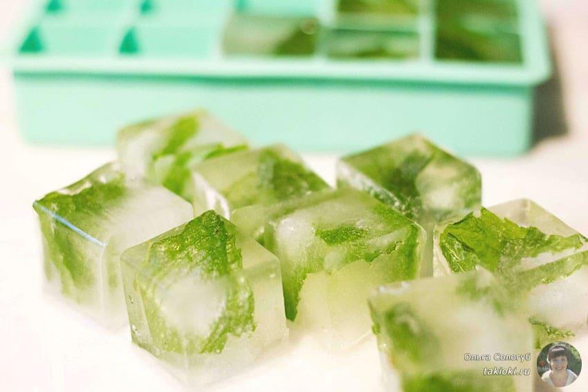 Лед для лица от морщин - рецепты
