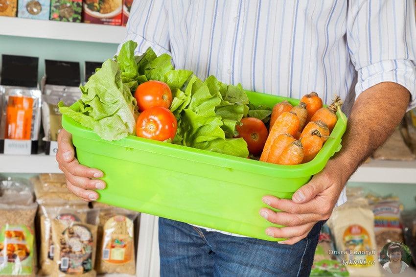 овощная корзинка