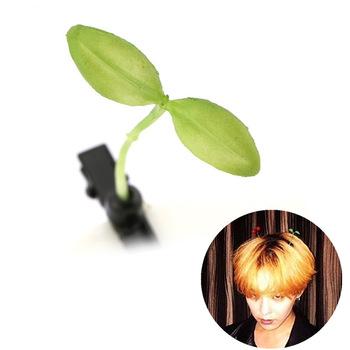 5 шт. G - дракон я росток мудрость трава головные уборы гриб застежка вишневый жук волос Pin фасоли девушка шпильки аксессуары