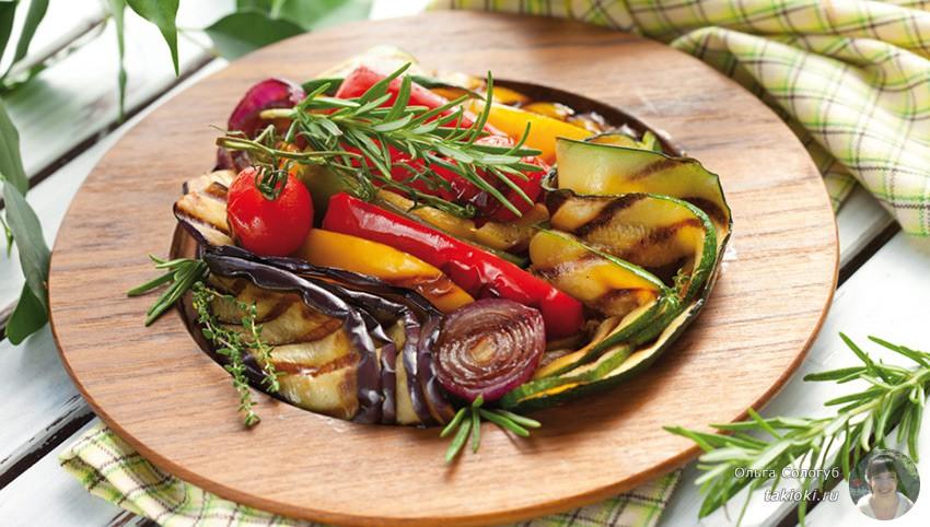 рецептик овощей на каждый день