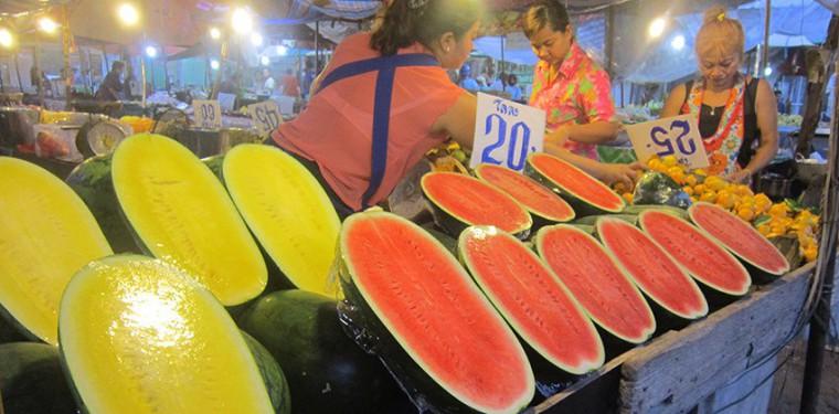 Обзор всех продуктовых рынков Хуа Хина