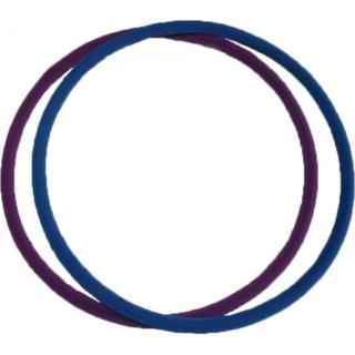 Обруч гимнастический стальной КОМФОРТ d=900мм, толщина 40мм