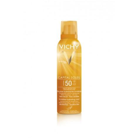 Спрей-вуаль Vichy CAPITAL IDEAL SOLEIL увлажняющий SPF 50