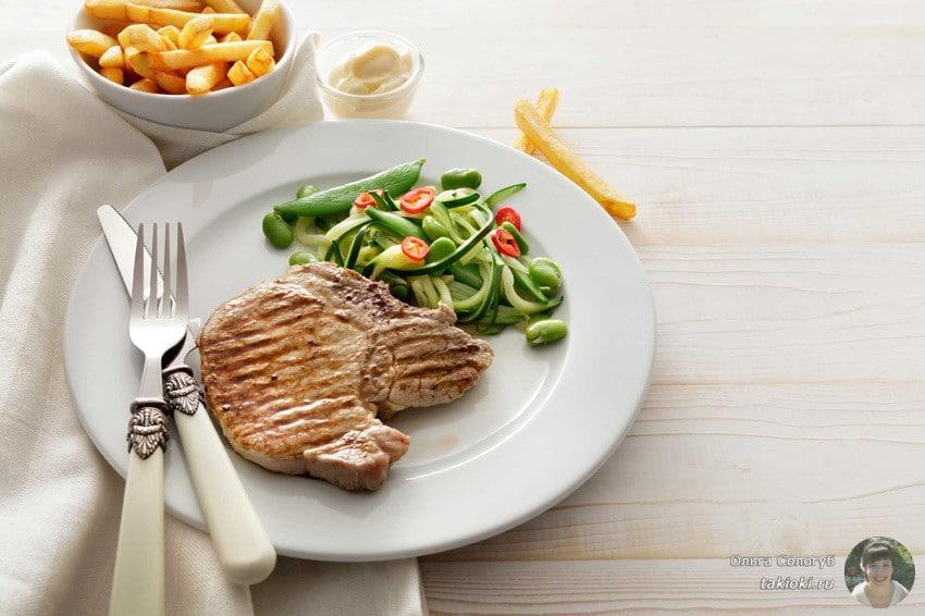 Здоровый и сытный обед