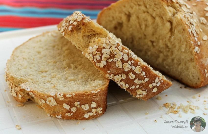 дрожжевой хлеб рецепт