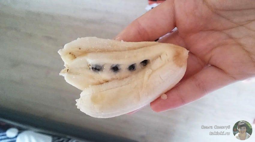 фото бананов с косточками