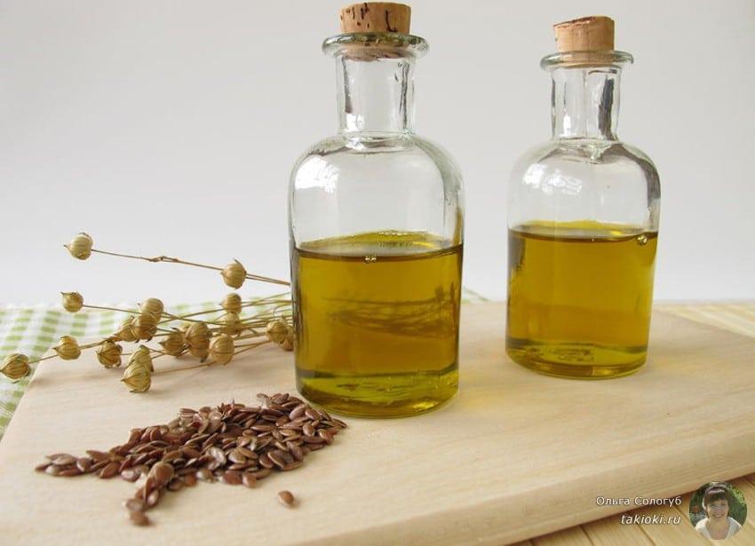 льняное масло для лица от морщин: отзывы