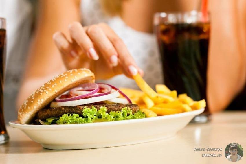 продукты для потолстения