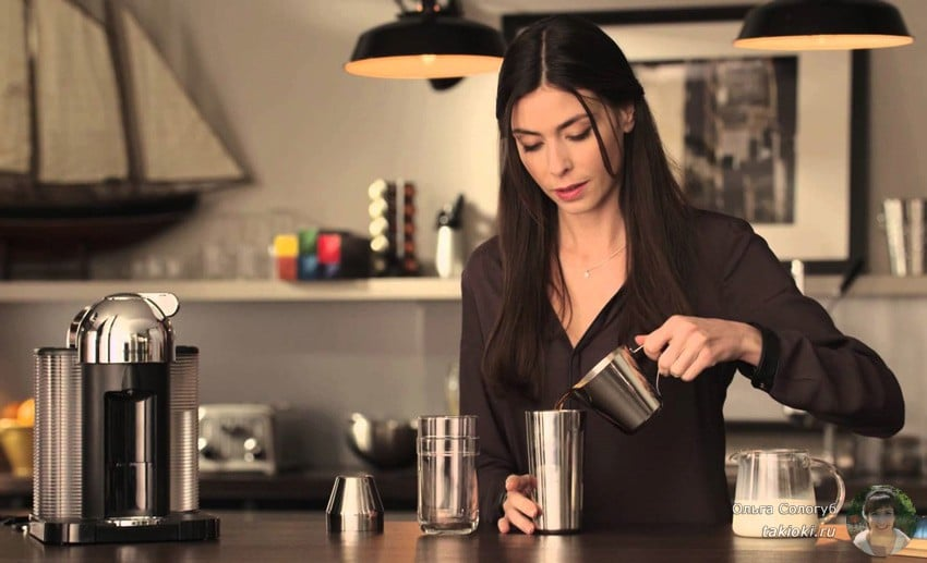 Рецепт кофейно-молочного коктейля