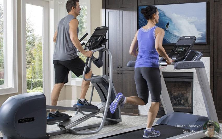 как заниматься на тренажере похудей