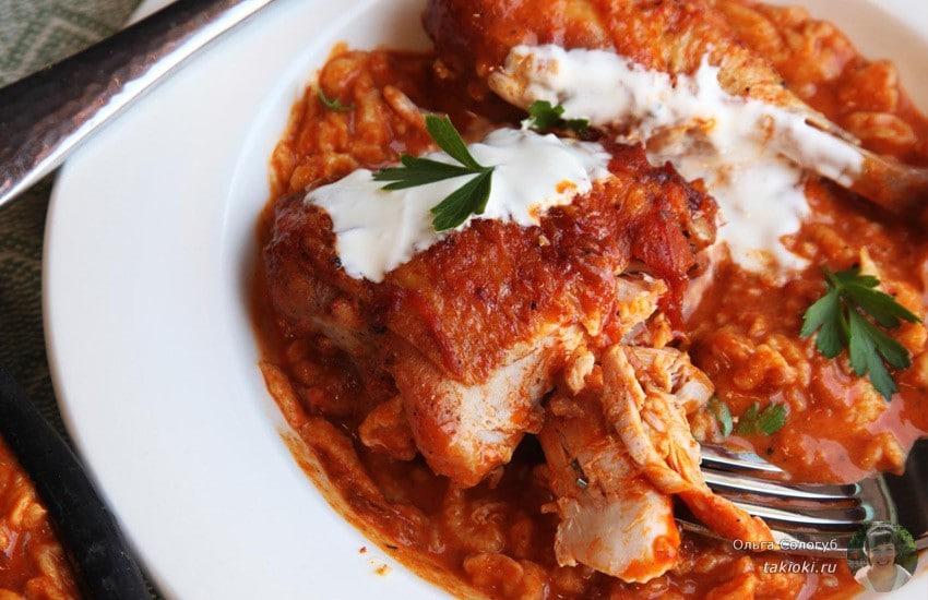 рецепт куриные ножки в соусе на сковороде рецепт с фото
