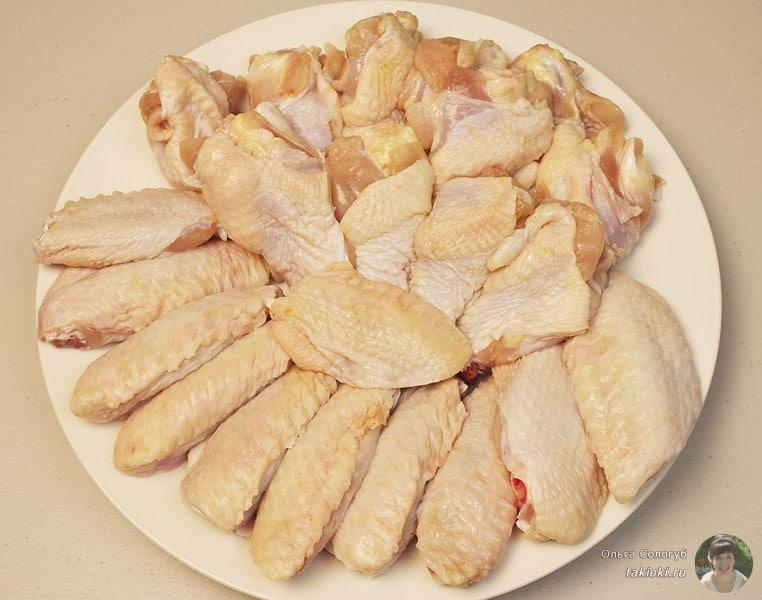как правильно пожарить курицу на сковороде с чесноком