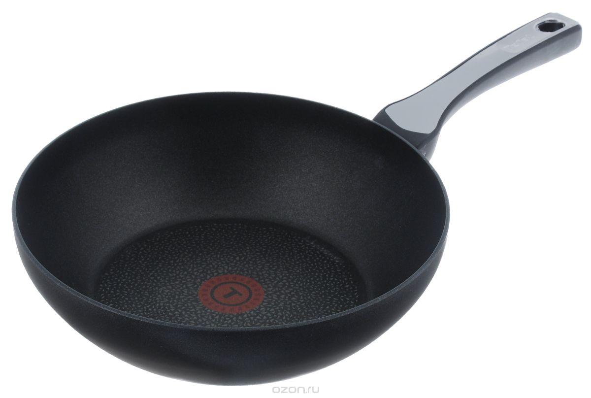 """Сковорода-вок Tefal """"Expertise"""", с антипригарным покрытием. Диаметр 28 см"""