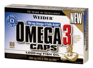 Weider Omega 3 caps (60капс)